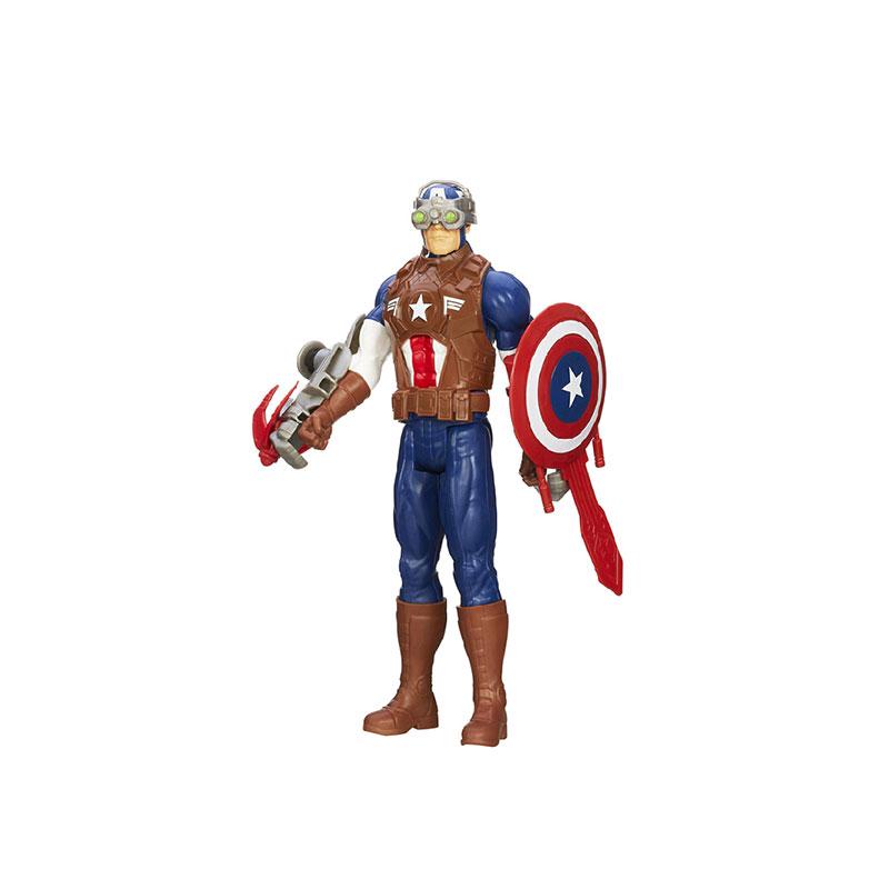 孩之宝 复仇者联盟英雄系列升级版战斗公仔a6757/a6756经典英雄形象