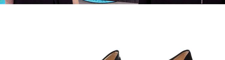 普拉达 prada 女士高跟鞋 黑色