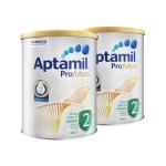 澳洲 Aptamil愛他美 白金版嬰兒配方奶粉2段 900g 6-12月齡(保稅倉發貨)(2件裝)