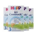 德国Hipp BIO喜宝 益生菌奶粉 3段(10-12个月宝宝)600g(4件装)(保税仓发货)