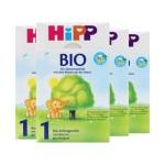 德国Hipp Bio喜宝 有机奶粉 1段(3-6个月宝宝)600g(4件装)(保税仓发货)