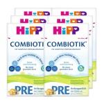 德国Hipp BIO喜宝 益生菌新生儿奶粉 Pre段(0-3个月宝宝)600g(6件装)(保税仓发货)