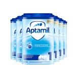 德國 Aptamil愛他美 嬰兒配方奶粉易樂罐1段(0-6月齡)800g(保稅倉發貨)(6件裝)