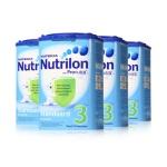 荷兰Nutrilon牛栏 奶粉 3段(10-12个月宝宝)800g(4件装)(保税仓发货)