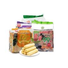 北田 能量99棒(蛋黄)+香脆谷物卷系列(蛋黄+海苔+芋头)