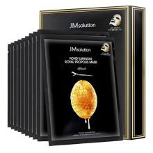 JMSolution肌司研瑩潤蜂膠面膜(黑臻版)30ml*10片(2件裝) 保濕補水