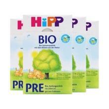 德国Hipp Bio喜宝有机新生儿奶粉Pre段(0-3个月宝宝)600g(保税仓发货)(4件装)