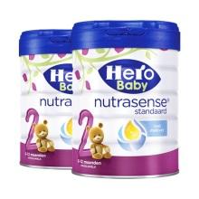 荷兰Hero Baby美素白金版奶粉2段 800g【2罐起发】(保税仓发货)