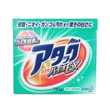 日本进口花王KAO酵素洗衣粉1kg护色速溶迅速渗透强力去污免搓洗