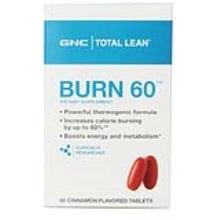 美国GNC健安喜 植物燃脂片 减脂塑形60片(保税仓发货)