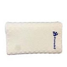 泰国泰清新高低按摩枕P4 58*40*9-12cm 保护颈椎 改善睡眠 礼盒包装 植绒面料 高密度纯天然乳胶枕芯 10年质保(偏远地区不发货)