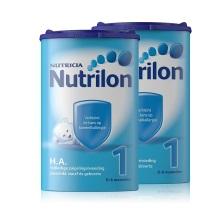 荷蘭Nutrilon HA半水解奶粉1段(0-6個月) 750g(保稅倉發貨)(2件裝)此商品有效期截止2020年7月