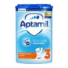 英國 Aptamil愛他美 嬰兒配方奶粉3段易樂罐 1周歲-2周歲 800g(保稅倉發貨)(2件裝)
