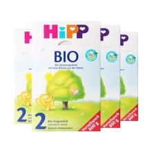 德国Hipp Bio喜宝有机奶粉2段(6-10个月宝宝)800g(保税仓发货)(4件装)