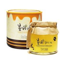 韩国papa recipe春雨布丁果冻睡眠面膜蜂蜜面霜补水保湿免洗135ml