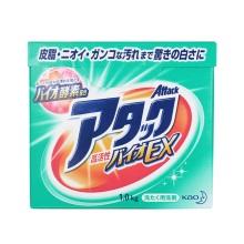 日本进口花王KAO酵素洗衣粉1kg*2盒 护色速溶迅速渗透强力去污免搓洗