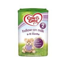 英国 牛栏 Cow&Gate 2段 800g(2件装)(保税仓发货)