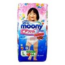 日本moony尤妮佳 拉拉裤(女) L44【2包起发】(保税仓发货)