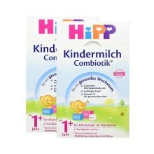 德國Hipp BIO喜寶 益生菌奶粉 1+段(1周歲以上寶寶)600g (2件裝)(保稅倉發貨)