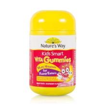 澳大利亚Nature's Way佳思敏 儿童软糖 复合维生素60粒(保税仓发货)