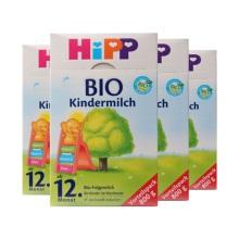 德國Hipp Bio喜寶 有機奶粉 4段(12個月以上寶寶)800g(4件裝)(保稅倉發貨)