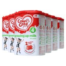 英国Cow&Gate牛栏婴儿奶粉4段(2-3周岁宝宝)800g(保税仓发货)(6件装)