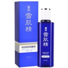 日本Kose/雪肌精化妆水180ml盈润型 提亮肤色补水保湿白皙透亮