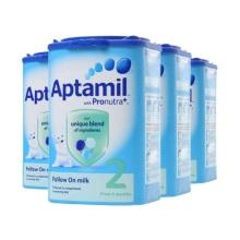 英国Aptamil爱他美婴儿奶粉2段(6-12个月宝宝)900g(保税仓发货)(4件起购)