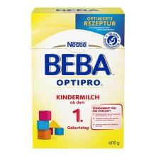 德国Nestlé雀巢BEBA贝巴成长奶粉1+段(12-24个月)600g(保税仓发货)