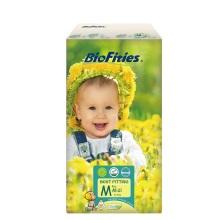 爱婴舒坦(BioFities)天使系列 新版3号M号纸尿裤 美国原装进口(46片)