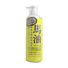 日本Loshi北海道马油身体乳保湿润肤露 485ml(保税仓发货)