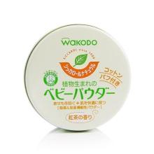 日本WaKODO和光堂绿茶保湿爽身粉(保税仓发货)