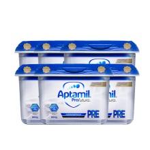 德国 Aptamil爱他美 白金版婴儿配方奶粉 Pre段 800g(保税仓发货)(6件装)