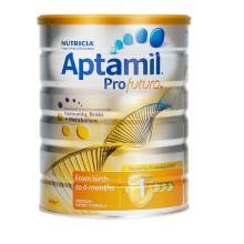 新西兰Aptamil白金版婴幼儿配方奶粉 1段(0-6个月)900g(保税仓发货)此商品有效期截止时间为2019/1