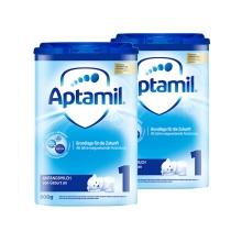 德國 Aptamil愛他美 嬰兒配方奶粉易樂罐1段(0-6月齡)800g(保稅倉發貨)(2件裝)