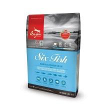 保税区直发 加拿大Orijen渴望六种鱼味猫粮 5.4kg