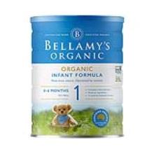 澳洲 贝拉米Bellamy's 婴儿奶粉 1段 900g(6件装)(保税仓发货)