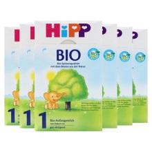 德国Hipp Bio喜宝 有机奶粉 1段(3-6个月宝宝)600g(6件装)(保税仓发货)