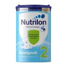 荷兰Nutrilon牛栏奶粉2段(6-10个月宝宝) 850g(保税仓发货)(4件起购)