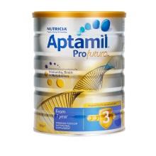 新西兰Aptamil白金版婴幼儿配方奶粉3段 900g((1-2岁)(保税仓发货)