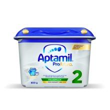 德國 Aptamil愛他美 白金版較大嬰兒配方奶粉2段 800g(新包裝)(保稅倉發貨)(2件裝)