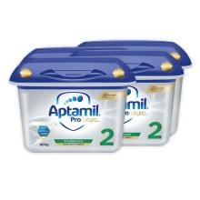 德国Aptamil爱他美白金版2段婴幼儿奶粉 800g(保税仓发货)(4件装)