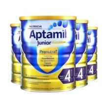 新西兰Aptamil爱他美婴儿奶粉4段(2周岁以上宝宝) 900g(保税仓发货)(4件起购)
