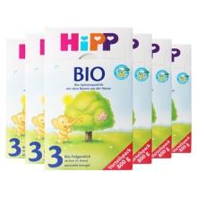 德国Hipp Bio喜宝有机奶粉3段(10-12个月宝宝)800g(保税仓发货)(6件装)