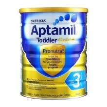 新西兰 Aptamil爱他美婴儿奶粉3段(1-2周岁宝宝) 900g(保税仓发货)