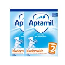 德國 Aptamil愛他美 2+段(24個月以上寶寶) 600g 新包裝(保稅倉發貨)(2件裝)