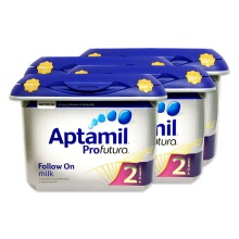 英国爱他美Aptamil白金版婴幼儿奶粉2段800g(保税仓发货)(4件装)