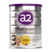 新西兰A2 Platinum酪蛋白婴儿奶粉3段(1-3周岁宝宝)900g【2罐起发】(保税仓发货)