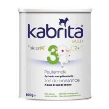荷兰kabrita佳贝艾特婴幼儿羊奶粉3段(1周岁以上宝宝) 800g【2罐起发】(保税仓发货)