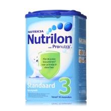 荷兰Nutrilon牛栏奶粉3段(10-12个月宝宝) 800g(保税仓发货)(2 件起购)